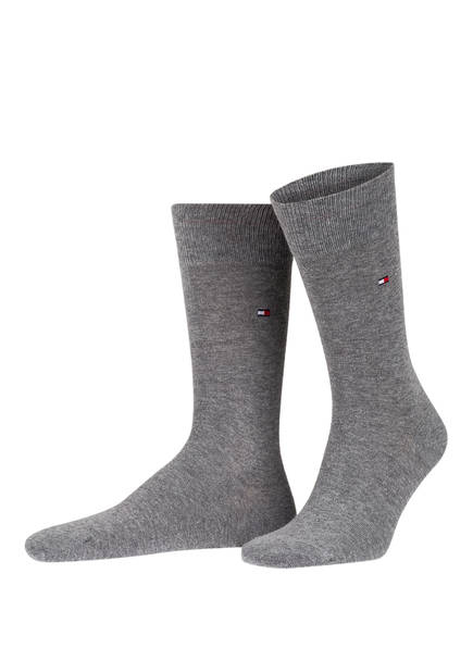 TOMMY HILFIGER 2er-Pack Socken, Farbe: 758 S- MIDDLE GREY (Bild 1)