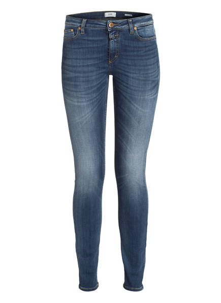 Blue Skinny jeans Lizzy Wash Easy W7 Closed Z4wxB