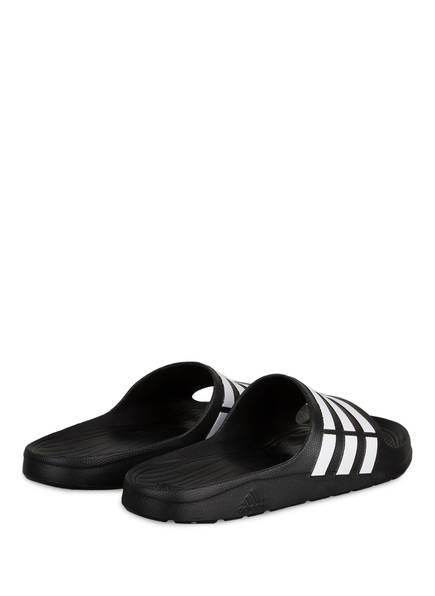 Adidas Badeschuhe Schwarz Adidas Badeschuhe Duramo rzrBw