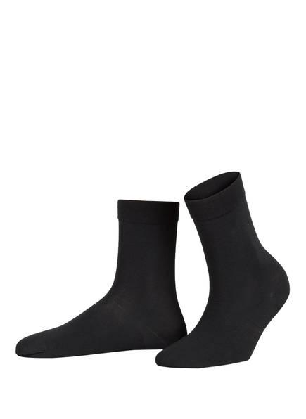 Wolford Socken COTTON SOCK, Farbe: 7005 BLACK (Bild 1)