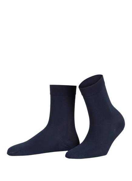 Wolford Socken COTTON SOCK, Farbe: 5650 DARK NAVY (Bild 1)