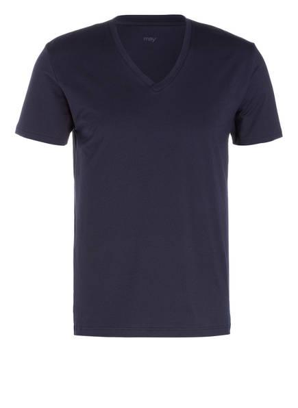 mey V-Shirt Serie DRY COTTON , Farbe: MARINE (Bild 1)