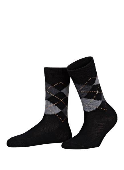 Burlington Socken WHITBY, Farbe: 3000 BLACK (Bild 1)