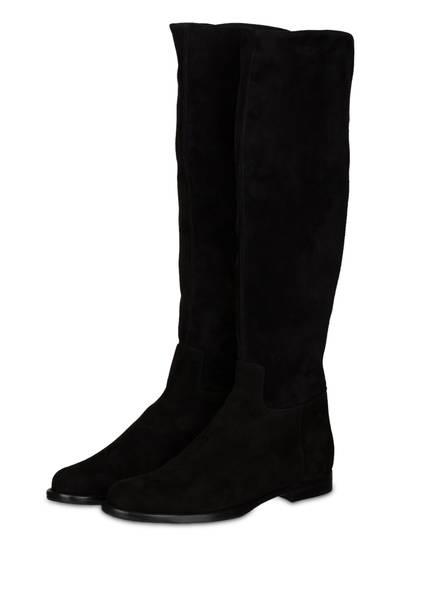 UNÜTZER Overknee-Stiefel, Farbe: SCHWARZ (Bild 1)
