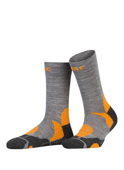 P.A.C. Trekking-Socken PRO, Farbe: 400 ORANGE (Bild 1)