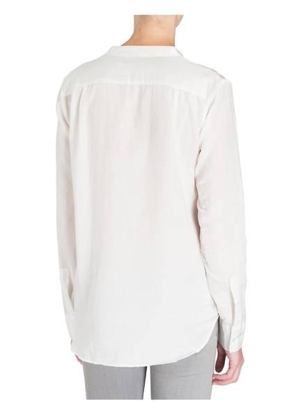 0039 ITALY Bluse mit Seidenanteil