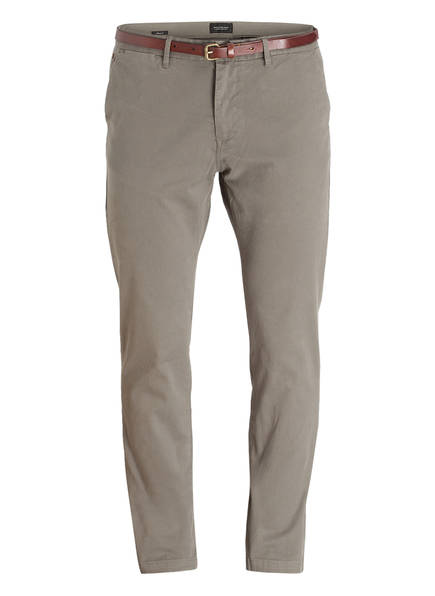 SCOTCH & SODA Chino STUART Regular Slim Fit, Farbe: GRAUGRÜN (Bild 1)