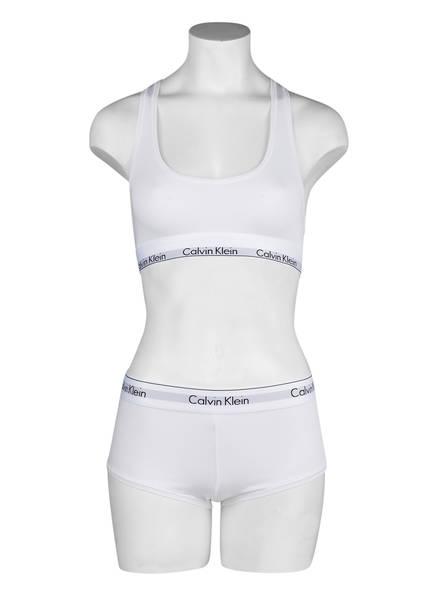 Modern Calvin Weiss Cotton Klein Bustier g7qxfS