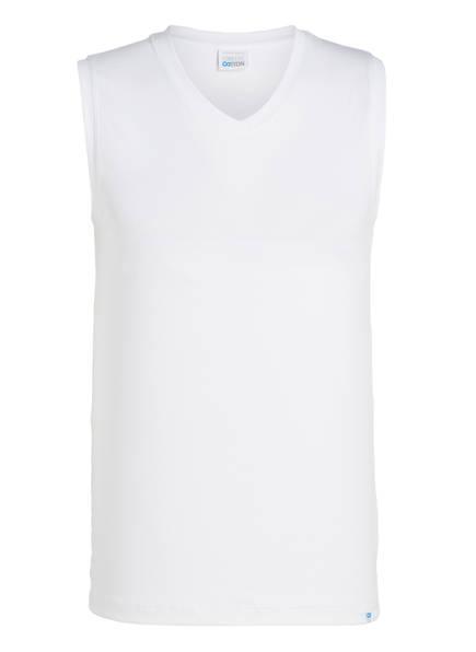 SCHIESSER Unterhemd LONG LIFE COTTON, Farbe: WEISS (Bild 1)