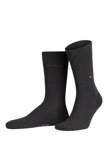Burlington 2er-Pack Socken EVERYDAY, Farbe: 3081 ANTHRA.MEL (Bild 1)