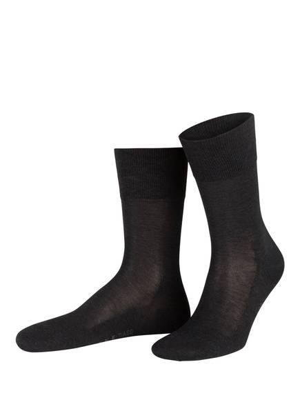 FALKE Socken TIAGO, Farbe: 3190 ANTHRACITE MEL. (Bild 1)