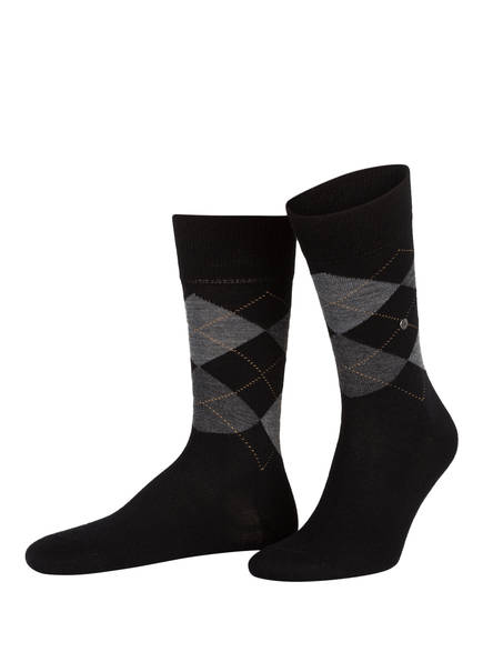 Burlington Socken EDINBURGH, Farbe: 3000 BLACK (Bild 1)