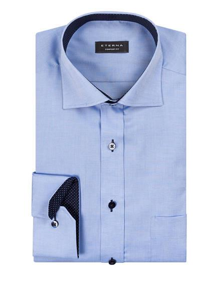 Eterna Eterna Eterna Fit Hemd Blau Comfort Blau Fit Hemd Hemd Comfort tqZ6YwB