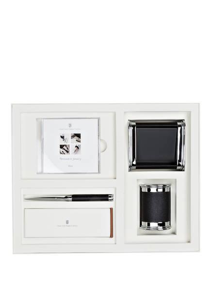 GRAF VON FABER-CASTELL 5-tlg. Schreibtischset, Farbe: SCHWARZ (Bild 1)