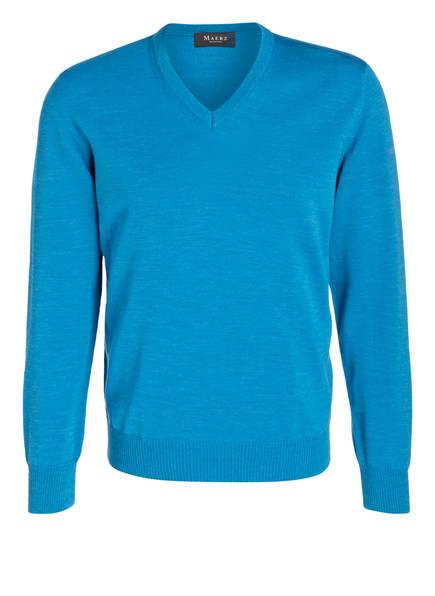 MAERZ MUENCHEN Pullover, Farbe: CYANBLAU (Bild 1)