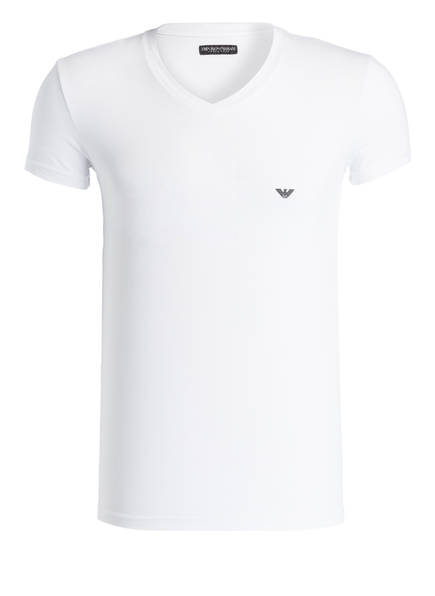 EMPORIO ARMANI V-Shirt, Farbe: WEISS (Bild 1)