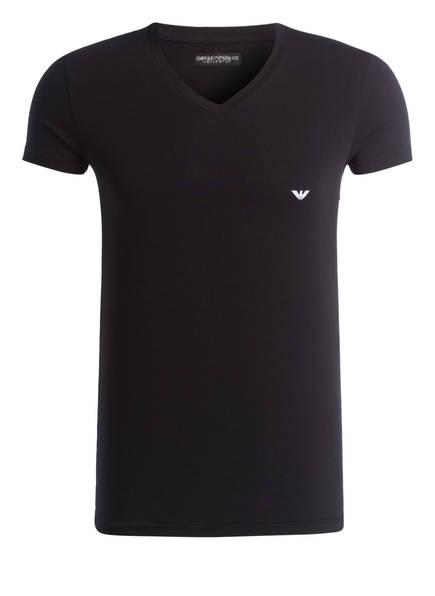 EMPORIO ARMANI V-Shirt, Farbe: SCHWARZ (Bild 1)