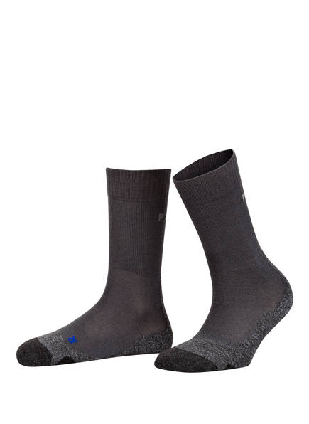FALKE Trekking-Socken TK2 COOL, Farbe: 3180 ASPHALT MEL. (Bild 1)