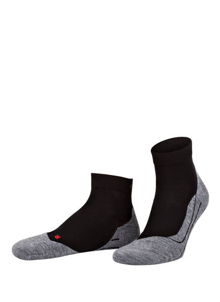 FALKE Running-Socken RU4 SHORT, Farbe: 3010 BLACK-MIX	 (Bild 1)