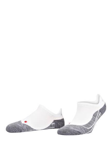 FALKE Running-Socken RU4 INVISIBLE , Farbe: GRAU/ WEISS (Bild 1)