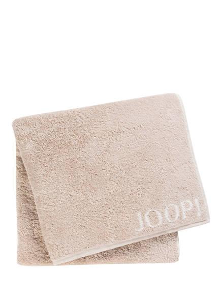 JOOP! Duschtuch CLASSIC DOUBLEFACE , Farbe: HELLBRAUN (Bild 1)