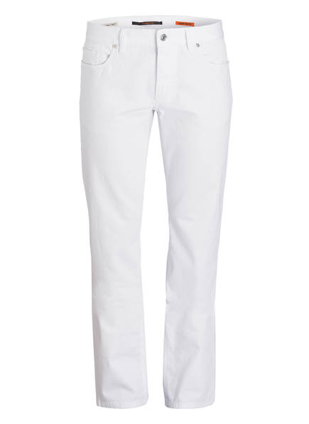 ALBERTO Jeans PIPE Regular Slim Fit, Farbe: 100 WHITE (Bild 1)