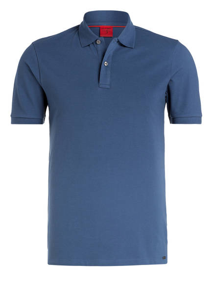 OLYMP Piqué-Poloshirt Level Five body fit, Farbe: MARINE (Bild 1)