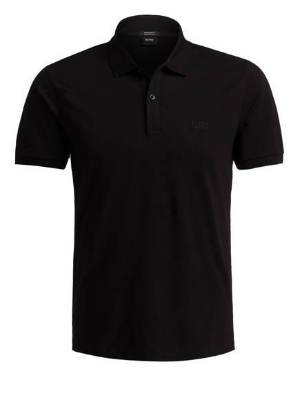 BOSS Piqué-Poloshirt PALLAS Regular Fit, Farbe: SCHWARZ (Bild 1)