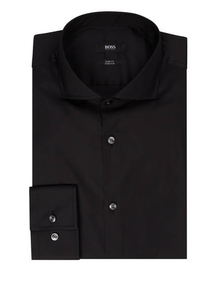 BOSS Hemd JASON Slim Fit, Farbe: SCHWARZ (Bild 1)