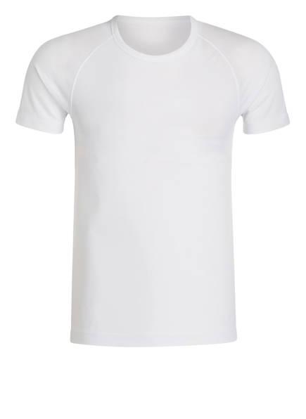 odlo 2er-Pack Funktionswäsche-Shirt CUBIC, Farbe: WEISS (Bild 1)