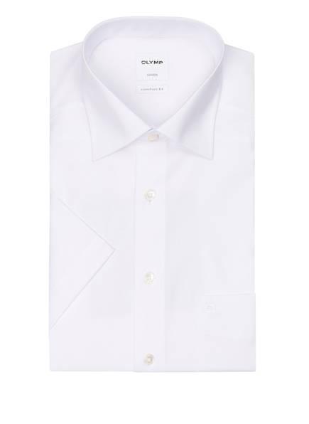 OLYMP Halbarm-Hemd Luxor comfort fit, Farbe: WEISS (Bild 1)