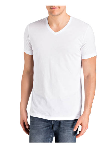 RAGMAN 2er-Pack V-Shirts