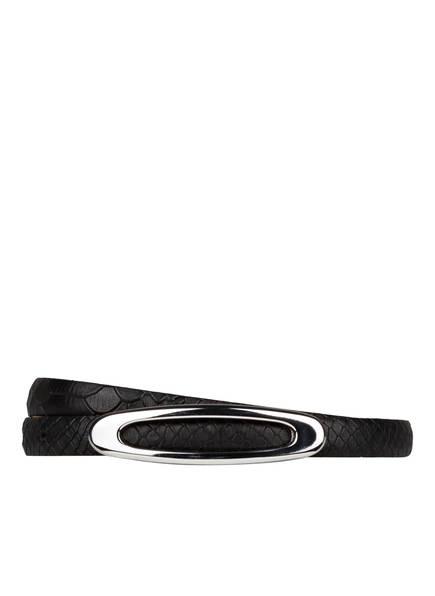 SCHUCHARD & FRIESE Ledergürtel, Farbe: SCHWARZ (Bild 1)