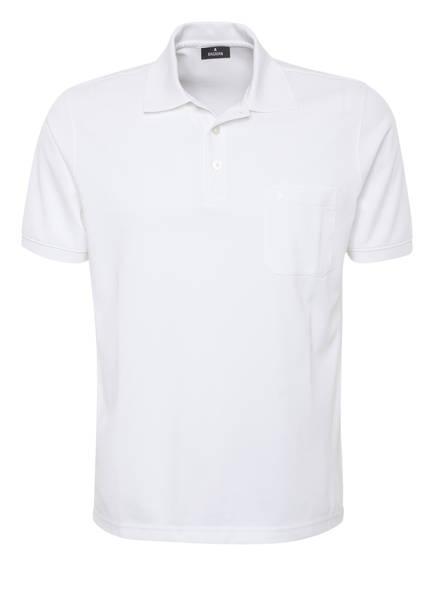 RAGMAN Piqué-Poloshirt , Farbe: WEISS (Bild 1)