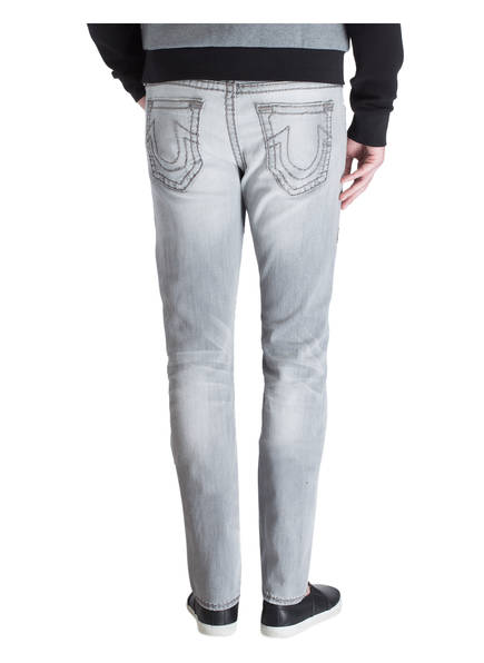 TRUE RELIGION Destroyed-Jeans ROCCO SUPER T Relaxed Skinny-Fit
