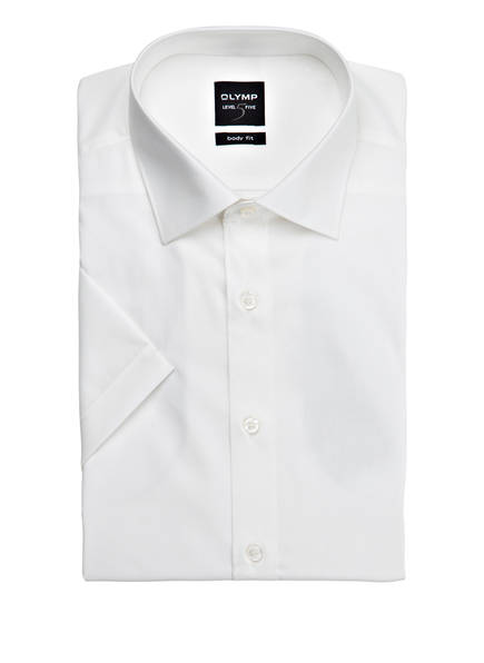 OLYMP Kurzarm-Hemd Level Five body fit, Farbe: CREME (Bild 1)