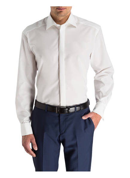 OLYMP Hemd Luxor comfort fit mit Umschlagmanschette
