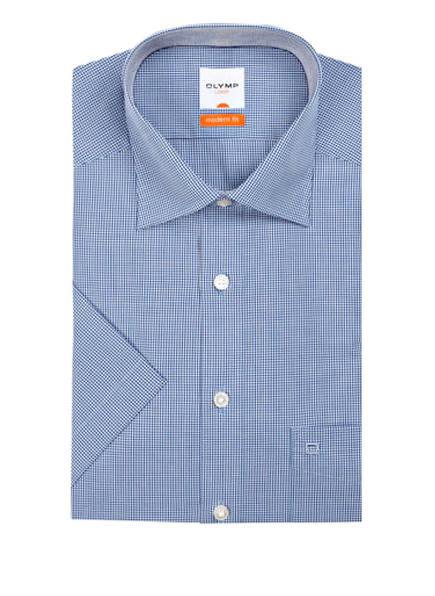 OLYMP Kurzarm-Hemd Luxor modern fit, Farbe: DUNKELBLAU (Bild 1)