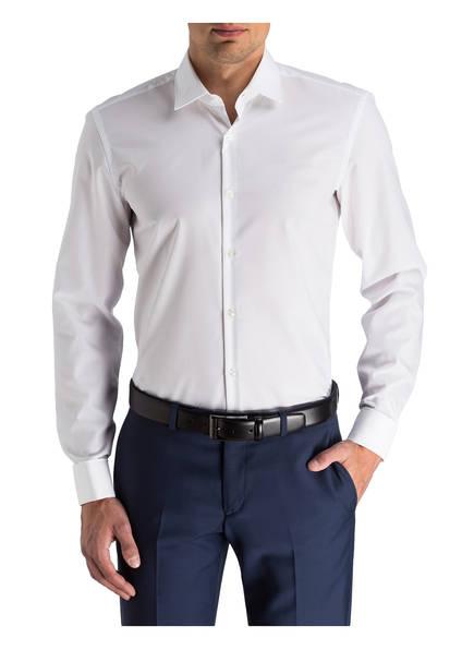 hemd jacques slim fit mit umschlagmanschette von hugo bei breuninger kaufen. Black Bedroom Furniture Sets. Home Design Ideas
