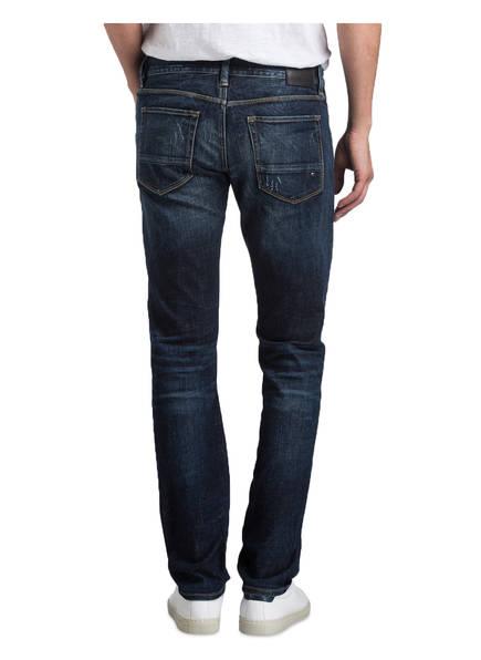 TOMMY HILFIGER Destroyed-Jeans BLEECKER BILLY BLUE Slim-Fit