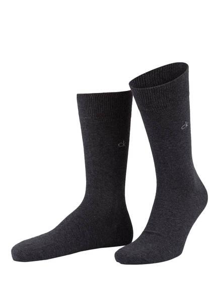 Calvin Klein 2er-Pack Socken, Farbe: GRAPHIT (Bild 1)