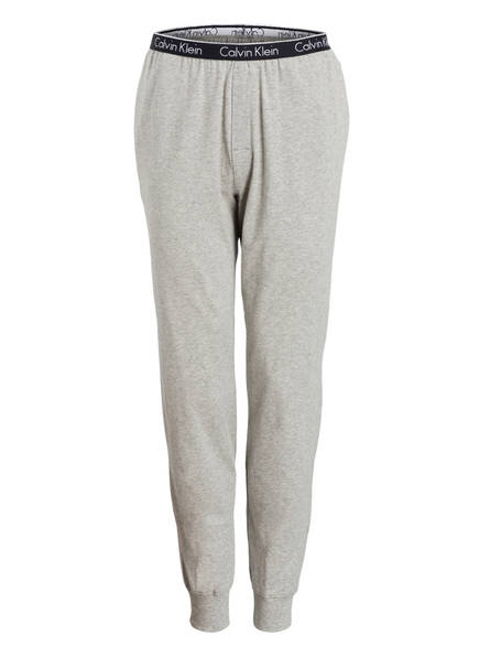 Calvin Klein Schlafhose, Farbe: GRAU MELIERT (Bild 1)