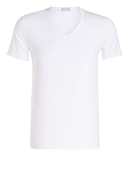 HANRO V-Shirt COTTON SENSATION, Farbe: WEISS (Bild 1)
