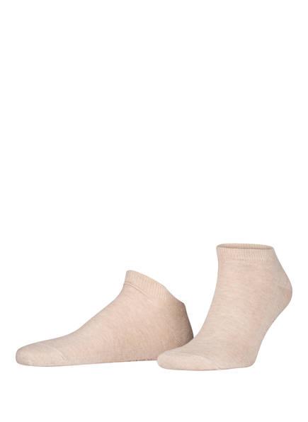 FALKE Sneakersocken FAMILY SHORT, Farbe: 4650 SAND MEL. (Bild 1)