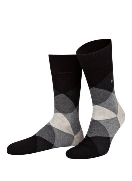 Burlington Socken CLYDE, Farbe: 3002 BLACK (Bild 1)