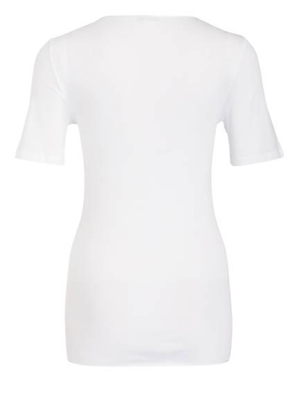 Seamless shirt T White Cotton Hanro 5tvwxnqq