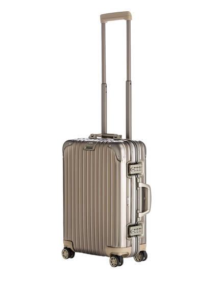 topas titanium multiwheel cabin trolley von rimowa bei. Black Bedroom Furniture Sets. Home Design Ideas