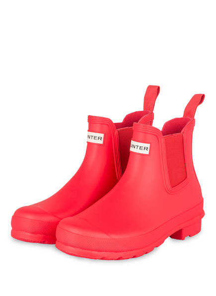 HUNTER Gummi-Boots , Farbe: ROT (Bild 1)