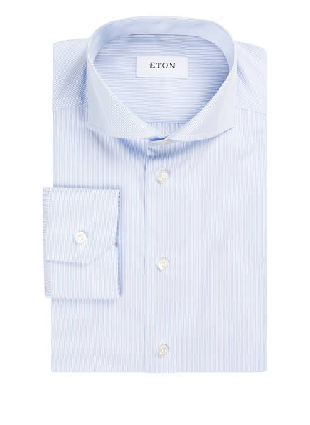 ETON Hemd Slim Fit, Farbe: HELLBLAU/ ECRU GESTREIFT (Bild 1)