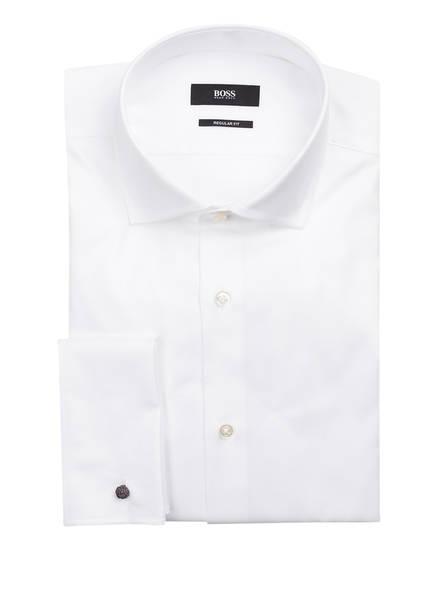 BOSS Hemd GARDNER Regular Fit mit Umschlagmanschette, Farbe: WEISS (Bild 1)